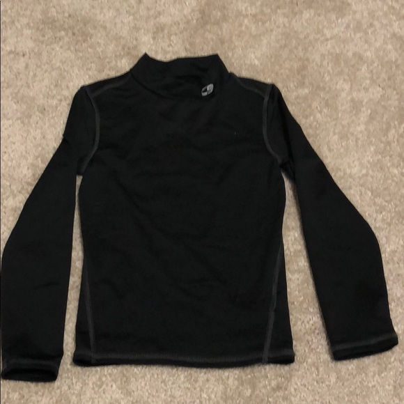 a8d2763f Champion Shirts & Tops | Boys Thermal Mock Neck Active Top | Poshmark